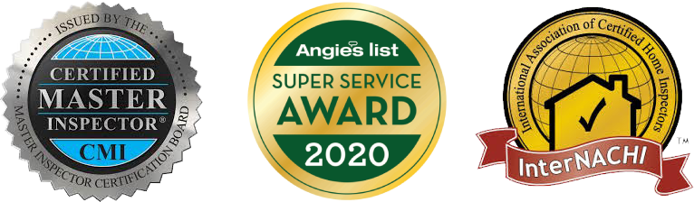 Awards. Certified Master Inspector CMI. Angies List 2020 Super Service award. International Association of Certified Home Inspectors (InterCACHI)